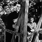 Jacques Fabbri, Viviane Romance, and Frank Villard in Les sept péchés capitaux (1952)