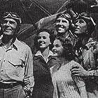 Randolph Scott, Preston Foster, Robert Shaw, Mary Healy, and Margaret Lindsay in 20,000 Men a Year (1939)