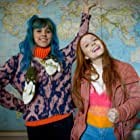 Larissa Manoela and Thati Lopes in The Secret Diary of an Exchange Student (2021)