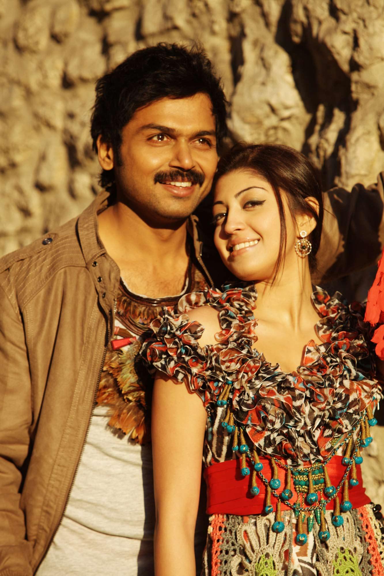 Karthi and Pranitha in Saguni (2012)