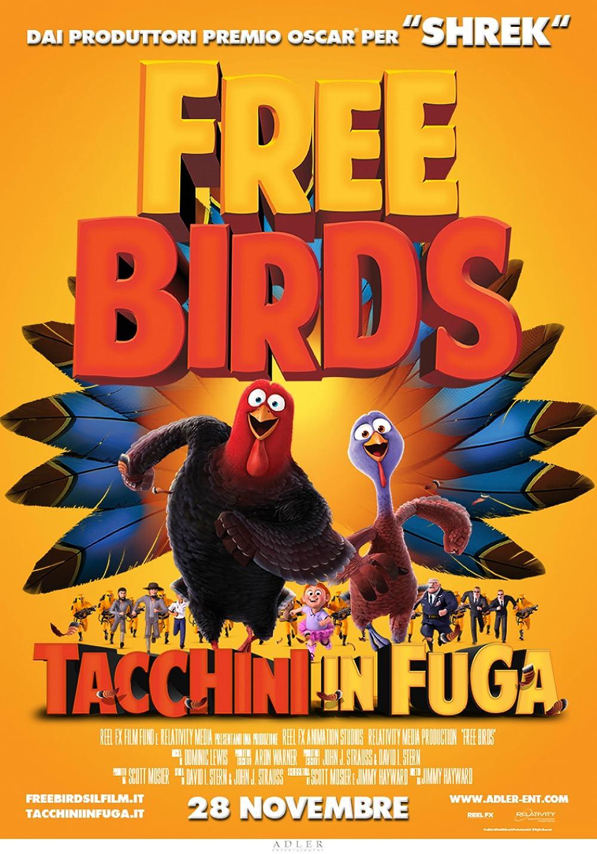 Free Birds 2013 Hindi ORG Dual Audio 1080p BluRay ESub 1.61GB Download