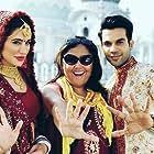 Namrata Singh Gujral, Nargis Fakhri, and Rajkummar Rao in 5 Weddings (2018)