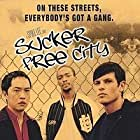 Ken Leung, Ben Crowley, and Anthony Mackie in Sucker Free City (2004)