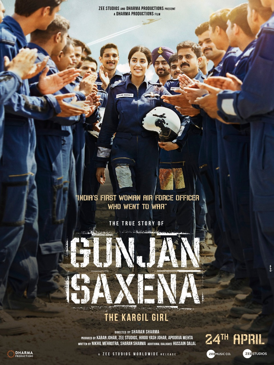 Gunjan Saxena (2020) Hindi Full Movie 480p, 720p, 1080p Download