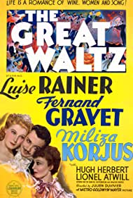 Fernand Gravey, Miliza Korjus, and Luise Rainer in The Great Waltz (1938)