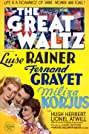 The Great Waltz (1938) Poster