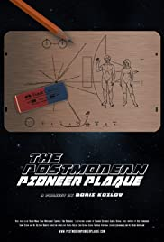 The Postmodern Pioneer Plaque Poster