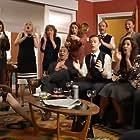 Miranda Richardson, Matthew Lewis, Phyllis Logan, Adrian Rawlins, Zoë Wanamaker, Philip Cumbus, Chlöe Hart, and Linda E Greenwood in Girlfriends (2018)