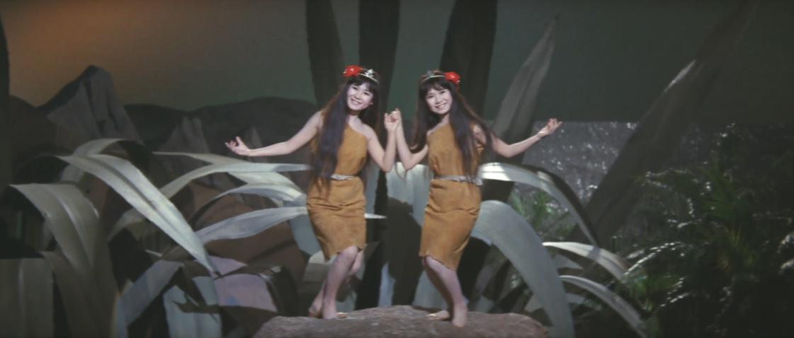 Emi Itô and Yumi Itô in San daikaijû: Chikyû saidai no kessen (1964)