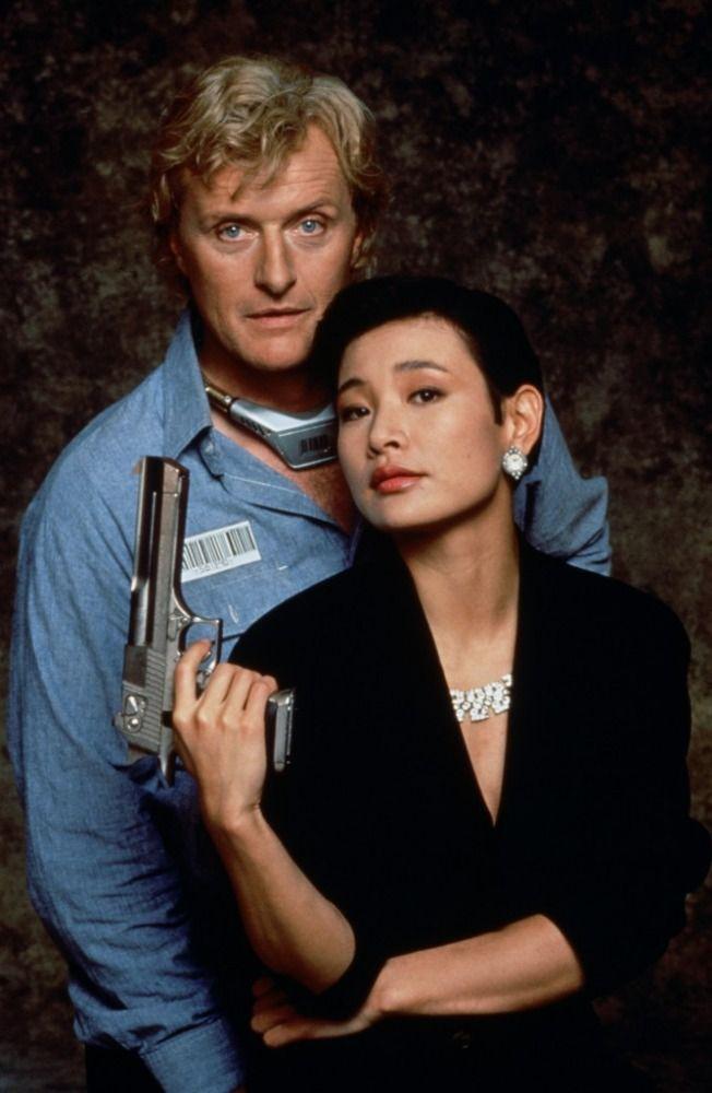 Rutger Hauer and Joan Chen in Wedlock (1991)