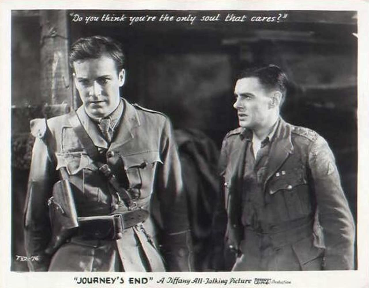 Colin Clive and David Manners in Journey's End (1930)