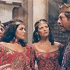 Marcello Mastroianni, Claudia Cardinale, Latou Chardons, and Leopoldo Trieste in Enrico IV (1984)
