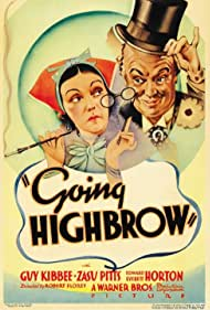Going Highbrow (1935) Poster - Movie Forum, Cast, Reviews