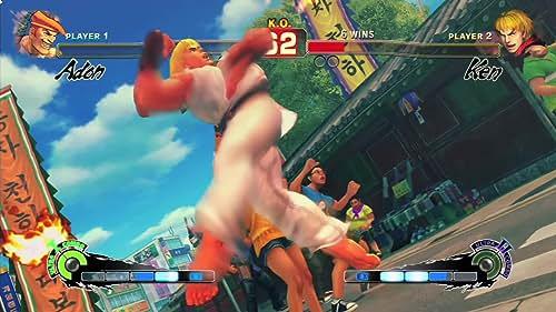 Super Street Fighter IV: Adon Vs Ken (English Subtitled)