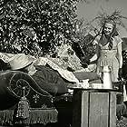 Ib Schønberg and Annemette Svendsen in Den gamle mølle paa Mols (1953)