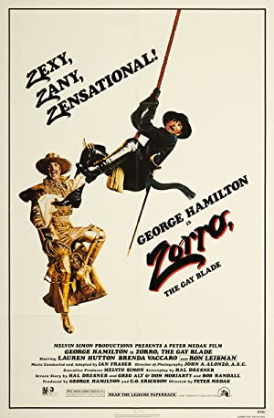 Zorro: The Gay Blade Poster Image
