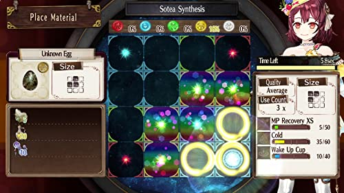Atelier Sophie: The Alchemist Of The Mysterious Book: Alchemy Gameplay Trailer (UK)