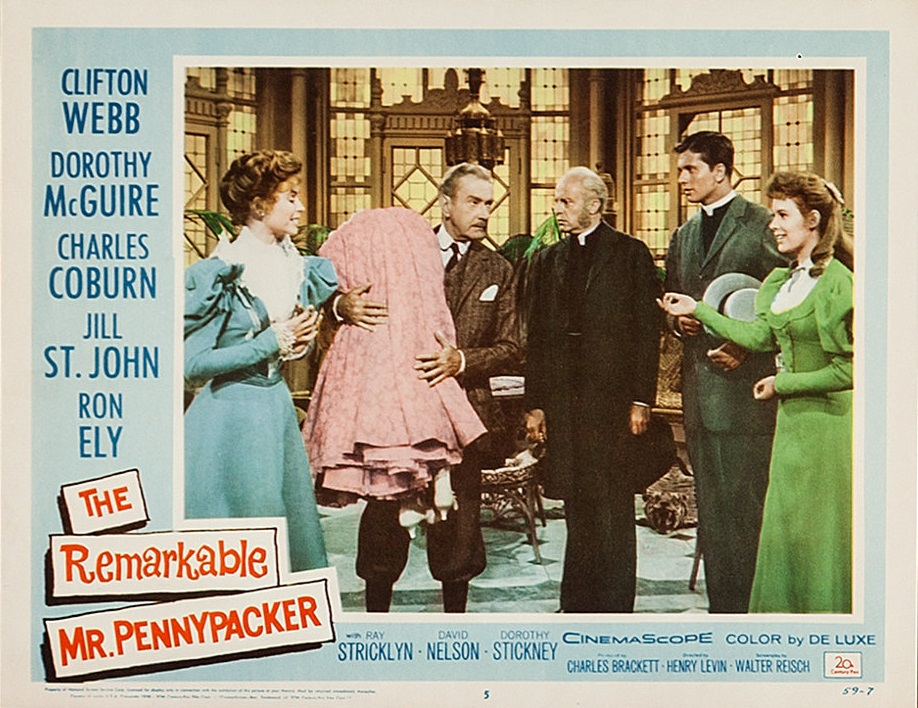 Larry Gates, Dorothy McGuire, and Clifton Webb in The Remarkable Mr. Pennypacker (1959)