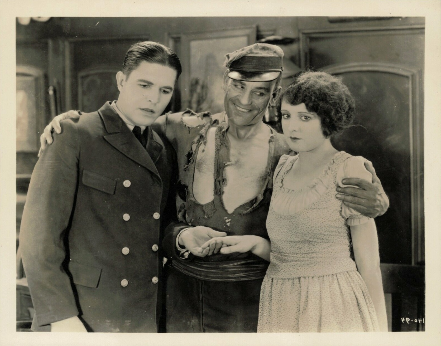 Lon Chaney, Billie Dove, and Malcolm McGregor in All the Brothers Were Valiant (1923)