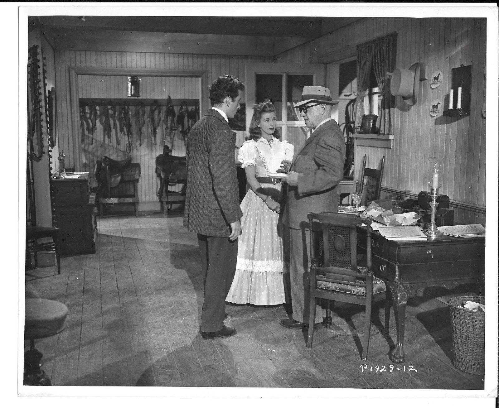 Eileen Christy, Allan Dwan, and Bill Shirley in I Dream of Jeanie (1952)