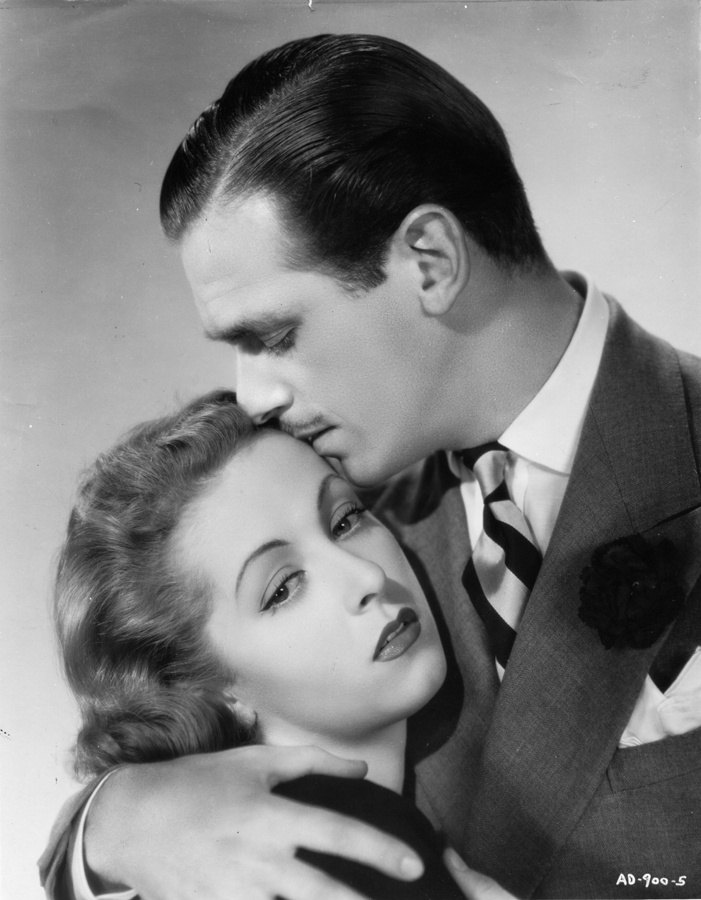 Douglas Fairbanks Jr. and Danielle Darrieux in The Rage of Paris (1938)