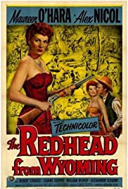 The Redhead from Wyoming Poster