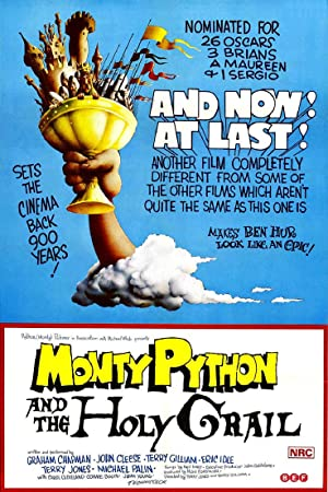 Monty Python and the Holy Grail Poster Image