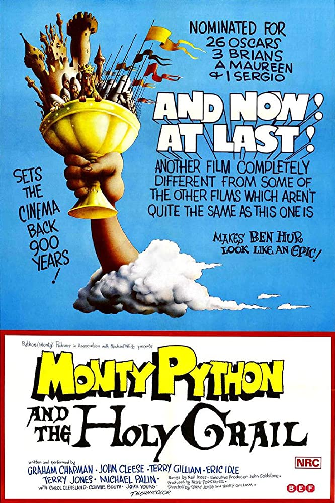 Poster Monty Python and the Holy Grail (1975)