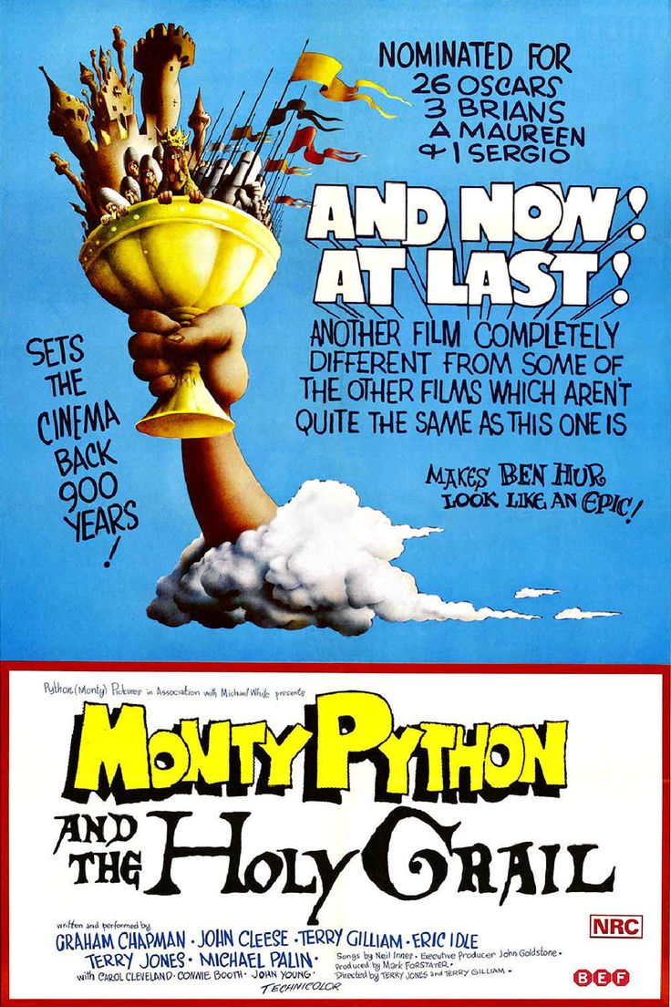 Monty Python and the Holy Grail (1975) BluRay 720p & 1080p