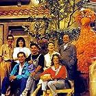 António Anjos, Fernando Gomes, Alexandra Lencastre, Pedro Wilson, and Fernanda Montemor in Rua Sésamo (1989)