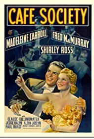 Madeleine Carroll and Fred MacMurray in Cafe Society (1939)