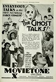 The Ghost Talks Poster