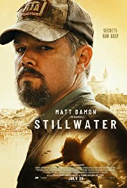 Movie Poster for Stillwater.