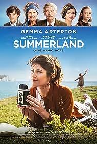 Tom Courtenay, Penelope Wilton, Gugu Mbatha-Raw, and Gemma Arterton in Summerland (2020)