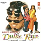 Govinda and Raveena Tandon in Dulhe Raja (1998)