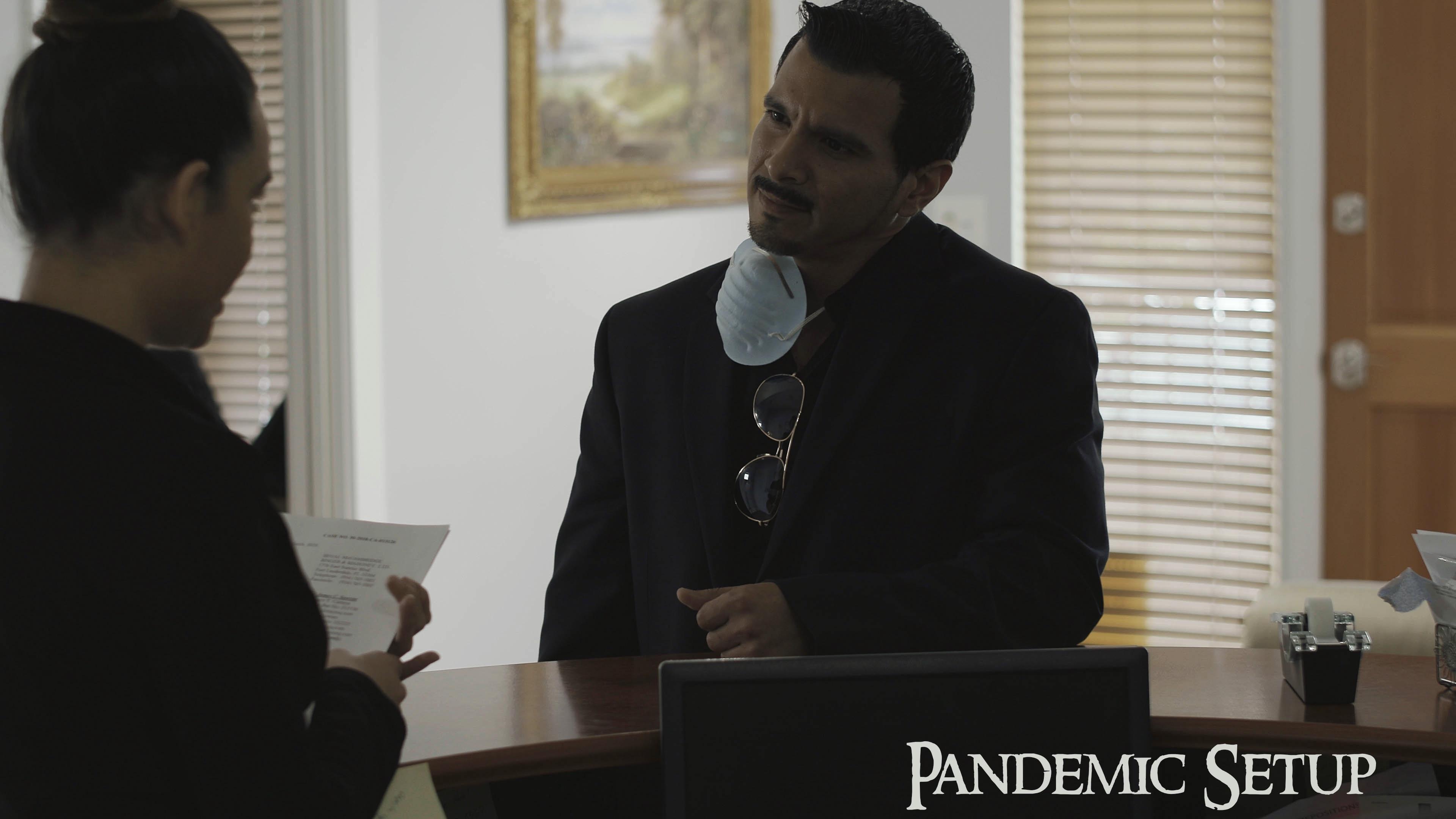 Naima Segui and Lee Silva in Pandemic Setup (2020)