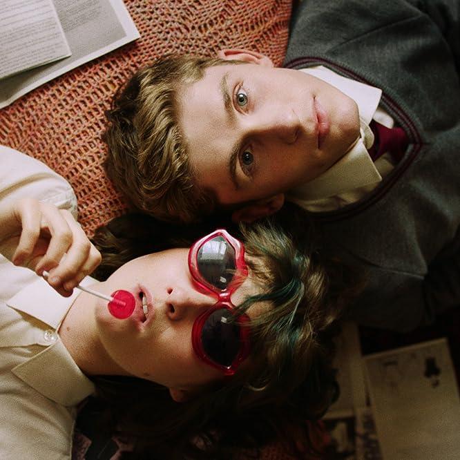 Fionn O'Shea and Lola Petticrew in Dating Amber (2020)