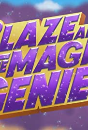 Blaze and the Magic Genie Poster