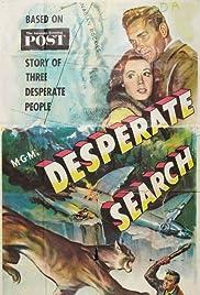 Desperate Search Poster
