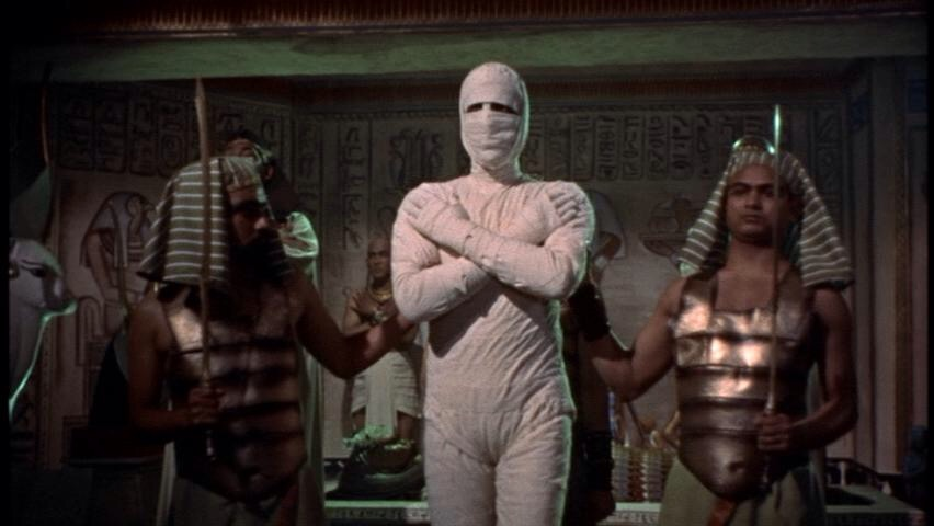 Christopher Lee in The Mummy (1959)