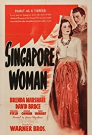 Singapore Woman Poster
