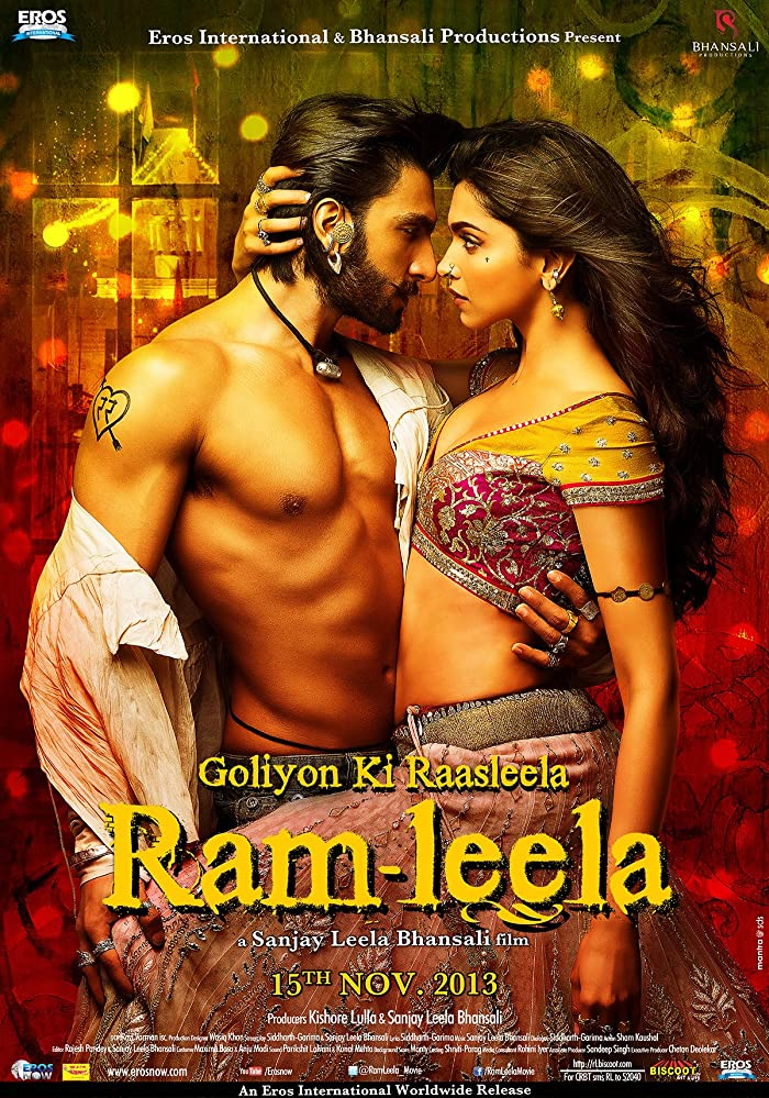 Goliyon Ki Rasleela Ram Leela 2013 Hindi Movie 720p BluRay ESubs 1GB Download