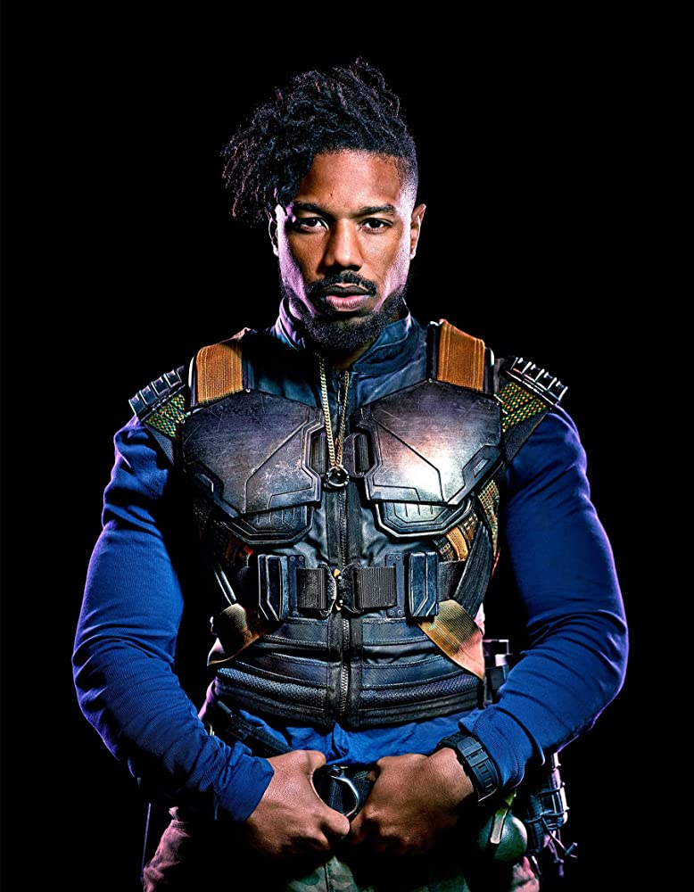 Michael B. Jordan in Black Panther (2018)