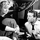 Leon Niemczyk and Lucyna Winnicka in Pociag (1959)