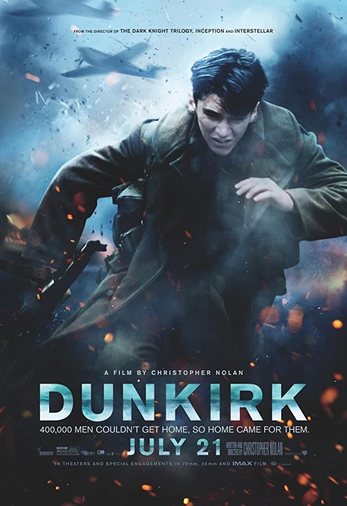 Dunkirk (2017) Dual Audio Hindi 350MB BluRay 480p Download