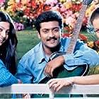 Laila, Sneha, and Suriya in Unnai Ninaithu (2002)