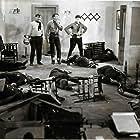 Ray Corrigan, Robert Livingston, and Max Terhune in Roarin' Lead (1936)