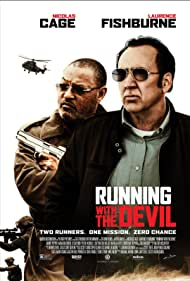 Nicolas Cage and Laurence Fishburne in Running with the Devil (2019)