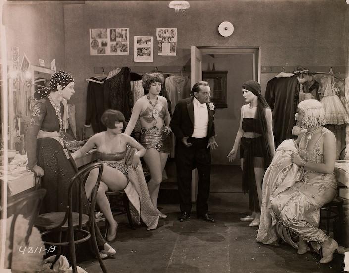 Laura La Plante and Nina Romano in The Midnight Sun (1926)