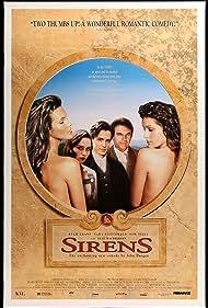 Hugh Grant, Elle Macpherson, Sam Neill, Tara Fitzgerald, and Tziporah Malkah in Sirens (1994)